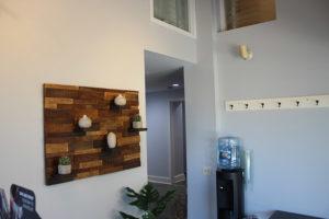 Suburban Cryotherapy waiting room