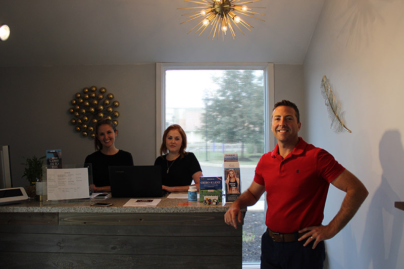 The staff at Suburban Cryotherapy