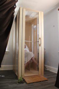 Infrared Sauna booth