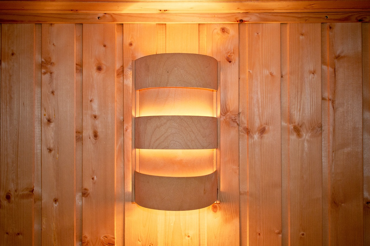 Infrared Sauna heat lamp